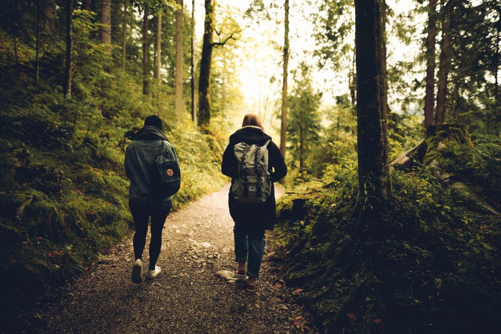 exercising in nature is a double benefit for mental health